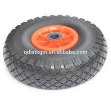 Wheelbarrow tire 300-4 with ball bearing