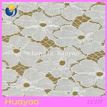 High quality spandex nylon wedding dress lace dubai