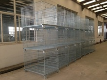 Metal Material And Storage Boxes & Bins Wire Container Type Metal Cage