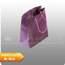 Bright colour glitter paper bag
