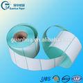 Mejor venta personalizada auto-adhesivo de papel adhesivo transparente