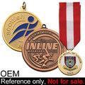 Esporte personalizado de ouro olímpica atletas medalha uzbequistão para venda