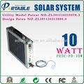 10w solar sistema de generación de energía solar con paneles solares   controlador inversor