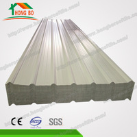 China OEM 4-layers plastic roofing sheet for shed
