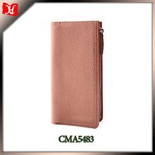 OEM your genuine cowhide leather travel wallet men wallet wholesale