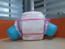 chinese disposable print adult baby plastic diapers factory