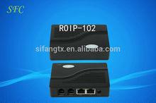 VoIP Cross-network gateway RoIP102/ Internet Radio Receiver Price