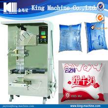 Liquid Bag Filling Machine for water / milk / wine / juice