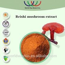 100% natural Chinese herbal extract red reishi extract/ganoderma lucidum extract/reishi mushroom extract