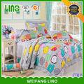 100 sábanas de algodón/cuna de algodón hoja cabida/ropa de cama para hogares de ancianos