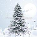 venda quente gigante mistura pvc pe geada nointerior da árvore de natal