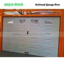 CE Certificate Automatic garage doors panels Sale/PU foam Insulated Door Panels Finger protection style