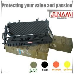 PP+Glass Fibre Material Dustproof Shockproof Waterproof Gun Cases For AR15,AK47,M16,M4A1,AUG,XM8,SG552,L85A1,FAMAS,QBZ95,FN FAL