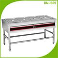 Alimentos de acero inoxidable más caliente baño maría/buffet de acero inoxidable equipo