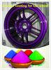 High gloss Epoxy powder coating for car wheels COLOURFUL