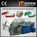 el mejor venta de china precio de fabricante de la caja de cartón de embalaje de la máquina