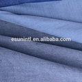 100% indigo de algodón crudo de algodón tela de mezclilla