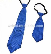 Sequins glitter neckties