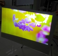 Self Adhesive Window Film/Rear Screen Projection/Roll Screen for Shop Window Advertising