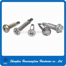 All kinds of head type stainless steel sheet metal screws