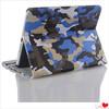 Big Influence Camouflage Bracket Leather Case for iPad mini 1 / 2