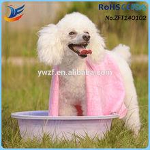 Quickly dry pva chamois pet towel