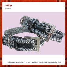 Factory price Soft fishbone cotton dog collar