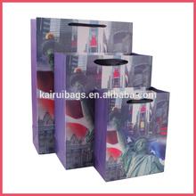 Nuevo producto de la estatua de la libertad de papel bolsa