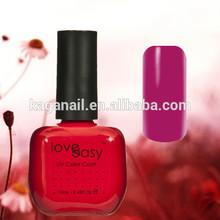 Love Easy bling colorful nail gel polish memory