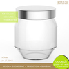 Small Eco-Friendly Pyrex Glass Baby Food Jars for Sale