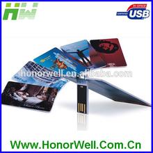 OEM Card USB Memory Stick 4GB Credit Card Flash Drive 8GB