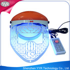 YYR CE approved home use PDT Therapy 3 colors skin led facial mask