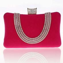 BV4015 New unique design women handbag good quality diamond handbag clutch evening bags hot sales