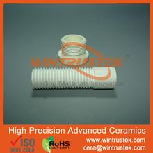 WINTRUSTEK/HPBN/Boron Nitride Ceramic/BN Ceramic Rod/Shaft/Bar/Tube/Bush/Sleeve/With Thread