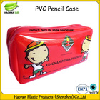 Cheap stylish pvc pencil case with zipper