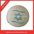 100% mão de malha crochet kippah judeu kipa kippa judaica chapéu