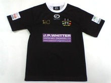 Black Classic Fit Sublimation Rugby League Jersey/Shirt