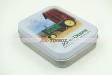 Rectangluar Gift Tin Box with High End Printed