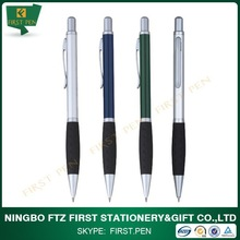 FIRST A231 Free Sample Slim Metal Ball Pen With Soft Rubber Grip