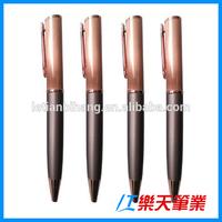 LT-W546 Metal gold rose ball pen