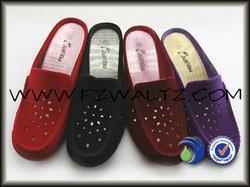 fashion women's wedge slipper,close toe sandals