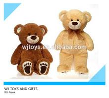 custom unstuffed teddy bear plush toys skin
