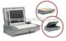 Monitor motorized Flip up Lockable LCD box