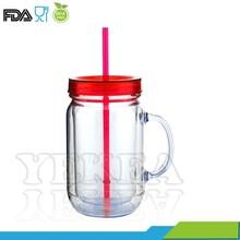 The newest products ! 2015 plastic mason jars wholesale , red lid glass mason jars , mason jar with handles !!