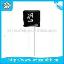 CD11N Non-polarity Type Rohs Aluminum Electrolytic Capacitor
