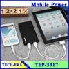 Portable High Capacity Dual USB Mobile Power Bank 20000mah Power Bank For iPhone 4/Samsung/Nokia/Ipad