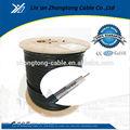 buena calidad y precio competitivo rg11 cable coaxial de tv vía satélite