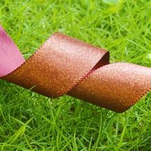 High quality old gold satin ribbon