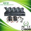 H.264 Security Camera 4CH DIY CCTV Kit DVR Camera Kit