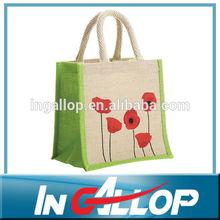 2014 wenzhou cusotm sack gunny jute bags wholesale